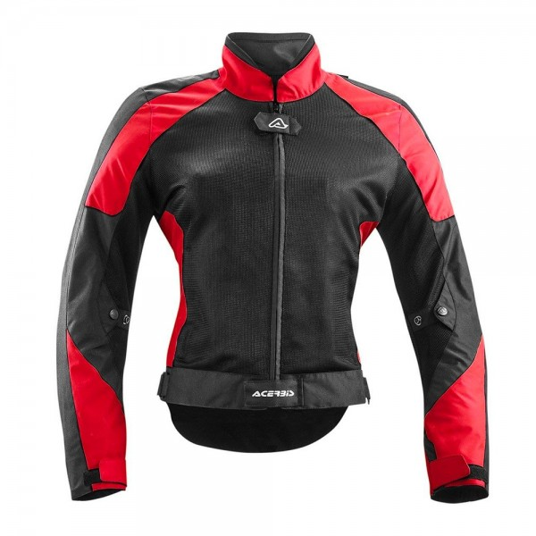 Acerbis Ramsey Lady My Vented - Black/Red